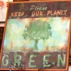 Think Green! with EcoCare Frames at DeBerge's